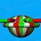 equipamento de diversão aquática planeta / inflável / flutuante