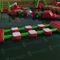 equipamento de diversão aquática colchão / trave de equilíbrio / inflável / flutuante
