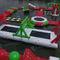 equipamento de diversão aquática para multi-esportes / quadra de vôlei / inflável / flutuante