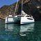 catamarã / de cruzeiro / de popa aberta / com deck saloon