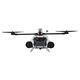 drone hexacóptero / de inspeção / para captação de imagens aéreas / à prova de água