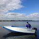 bote com motor de popa / dobrável / open / de pesca