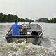 barco profissional barco empurrador / com motor de centro / a diesel / em alumínio