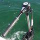 motor elétrico / de popa / para embarcação de recreio / sem escovas