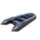 barco inflável com motor de popa / dobrável / esportivo / para pesca