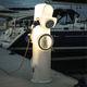 totem com iluminação embutida / de distribuição elétrica / de distribuição de água / para píer