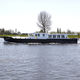 lancha Express Cruiser com motor de centro / com casa do leme / fluvial