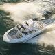 lancha Express Cruiser com motor de popa / trimotor / com hard-top / com console dupla