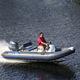 barco inflável com motor de popa / de casco rígido (RIB) / com console central / com console jockey