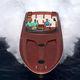 lancha Express Cruiser hidrojato / a diesel / bimotor / com casco planante