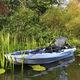 caiaque sit-on-top / rígido / de pesca / de 1 lugar