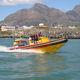 barco profissional barco salva-vidas / com motor de popa / barco inflável semirrígido