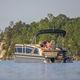 pontoon boat com motor de popa / tri-tube / máx. 15 pessoas
