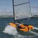 barco de vela ligeira individual / single skiff / de regata / de lazer