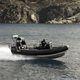 barco profissional barco utilitário / com motor de popa / em alumínio / barco inflável semirrígido
