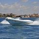 barco inflável com motor de centro / bimotor / semirrígido / com console central