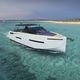 lancha Express Cruiser com motor de popa / quadrimotora / open / com console dupla