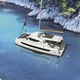 catamarã / de cruzeiro / 4 cabines / pernoite para 6 pessoas