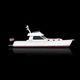 lancha Express Cruiser com motor de centro / bimotor / com hard-top / de cruzeiro