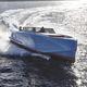 lancha Express Cruiser com motor de centro / bimotor / com casco de deslocamento / open