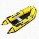 barco inflável com motor de popa / semirrígido / para pesca / máx. 3 pessoas