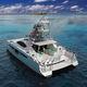 lancha Express Cruiser catamarã / a diesel / com motor de centro / bimotor
